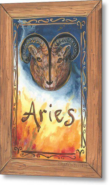 My Aries Metal Print