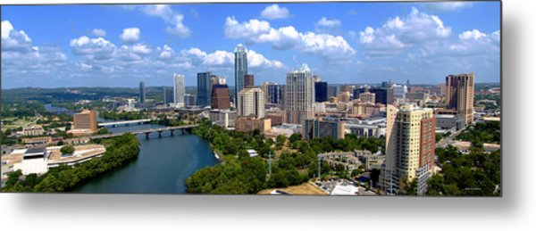 My Austin Skyline Metal Print