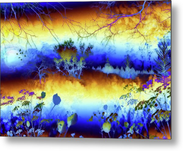 My Blue Heaven Metal Print