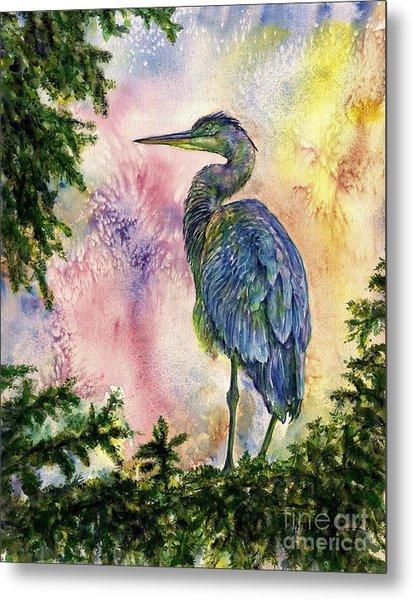 My Blue Heron Metal Print
