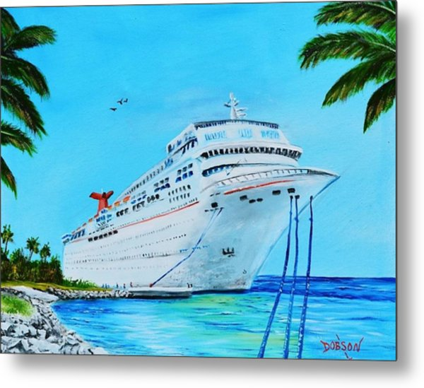 My Carnival Cruise Metal Print