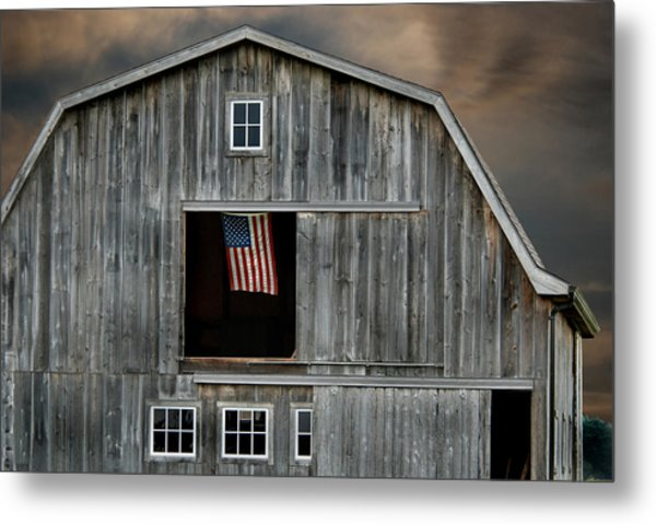 My Country Metal Print by Maria Dryfhout