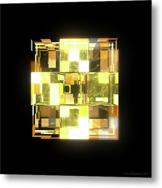My Cubed Mind - Frame 019 Metal Print