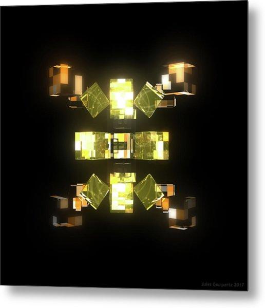 My Cubed Mind - Frame 085 Metal Print