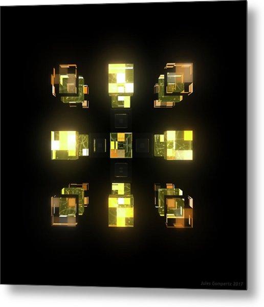 My Cubed Mind - Frame 141 Metal Print