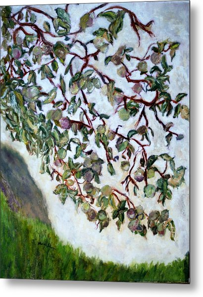 My Daughter's Apple Tree Metal Print