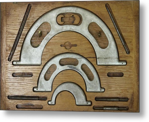 My Fathers Tools Metal Print