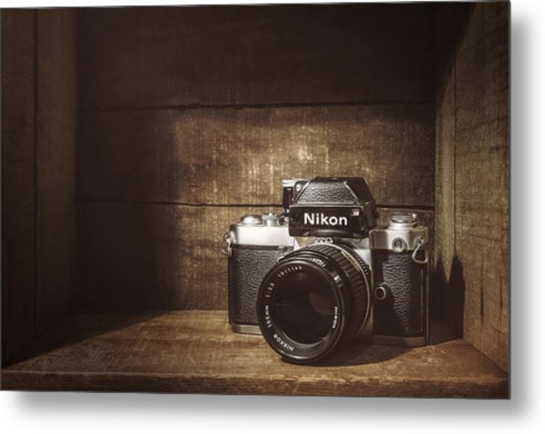 My First Nikon Camera Metal Print