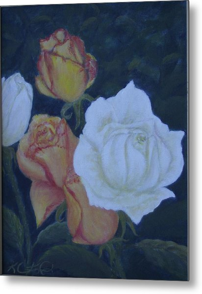 My Garden Metal Print by KC Knight