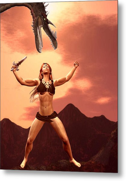 My Inner Beauty And Strength  Metal Print by Lisa Roy