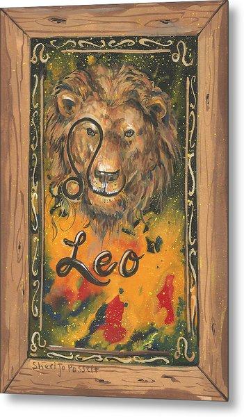 My Leo  Metal Print