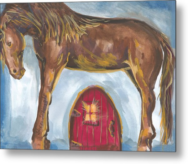 My Mane House Metal Print
