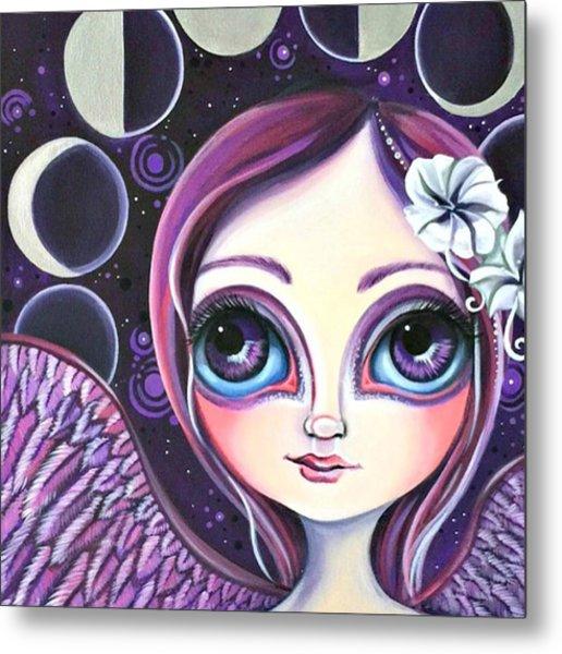 My moon Phase Angel Original Metal Print