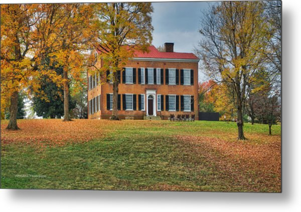 My Old Kentucky Home Metal Print