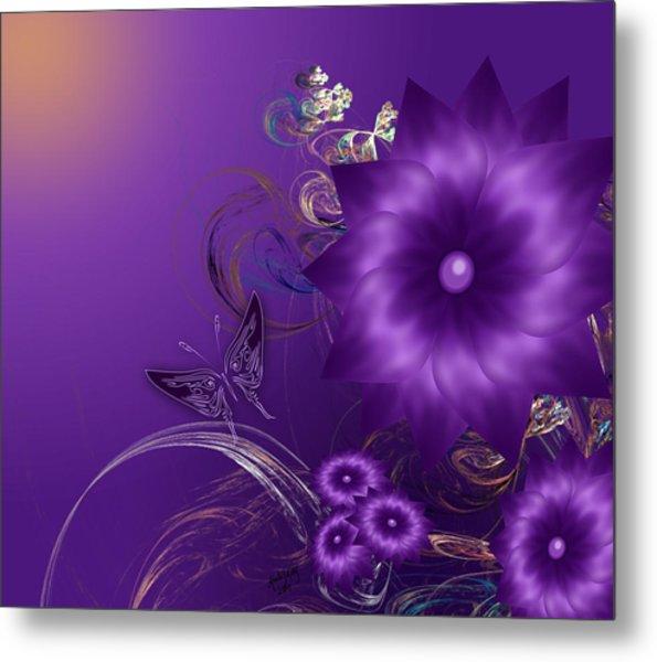 My Purple Day Metal Print