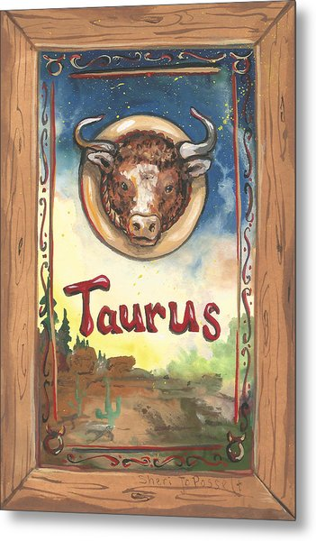 My Taurus Metal Print