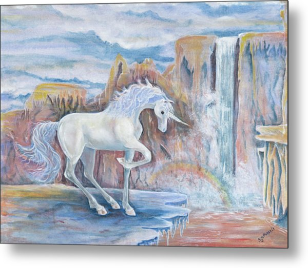My Unicorn Metal Print