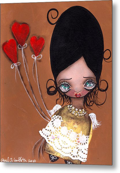 My Valentine Metal Print by  Abril Andrade Griffith
