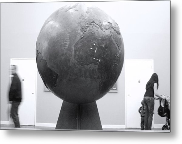 My World Metal Print by Jez C Self