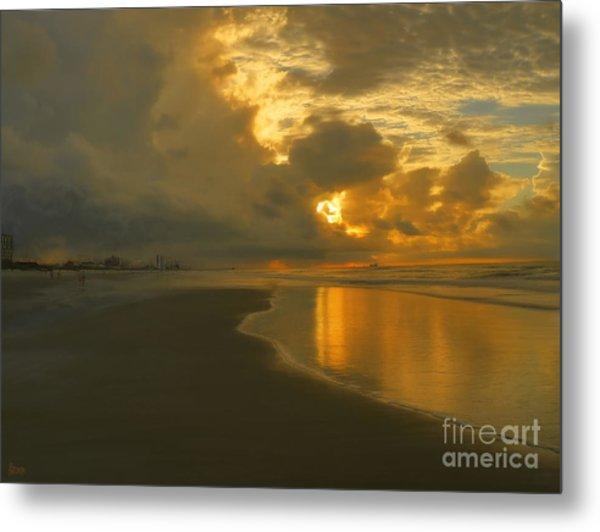 Myrtle Beach Sunrise Metal Print