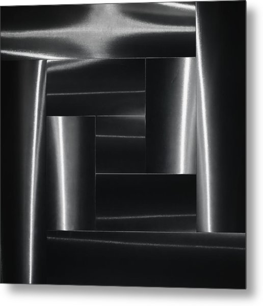 Mysterious Forms. Metal Print