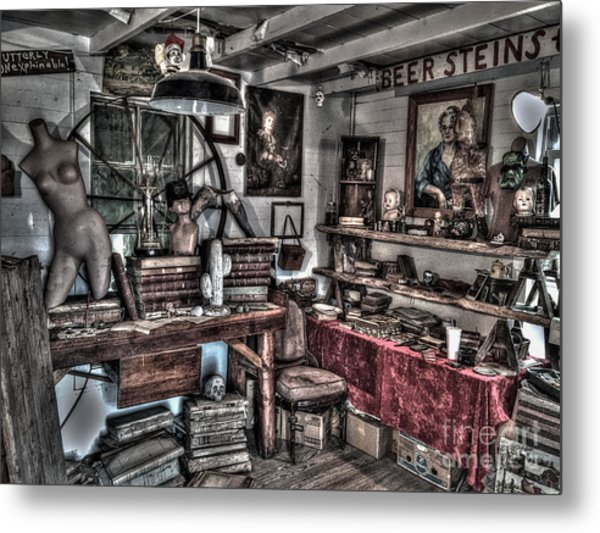 Mysterious Study Metal Print