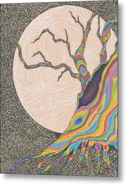 Mysterious Universe Metal Print by Rachel Zuniga