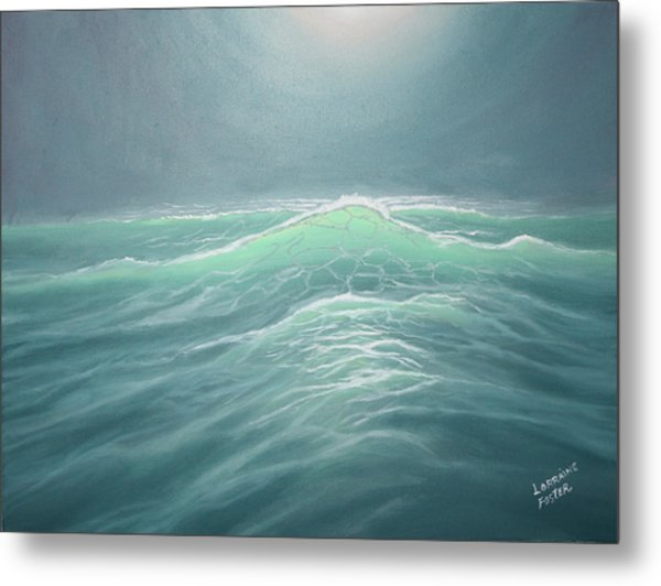 Mystery At Sea Metal Print by Lorraine Foster