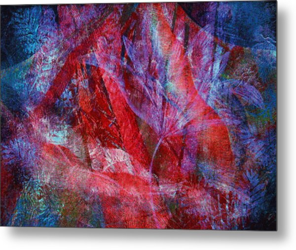 Mystery Flower Metal Print by Sue Reed