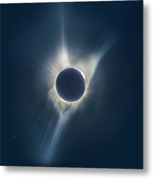 Mystic Eclipse  Metal Print
