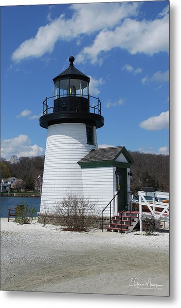 Mystic Lighthouse Metal Print