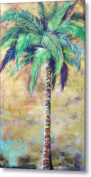 Mystic Palm Metal Print