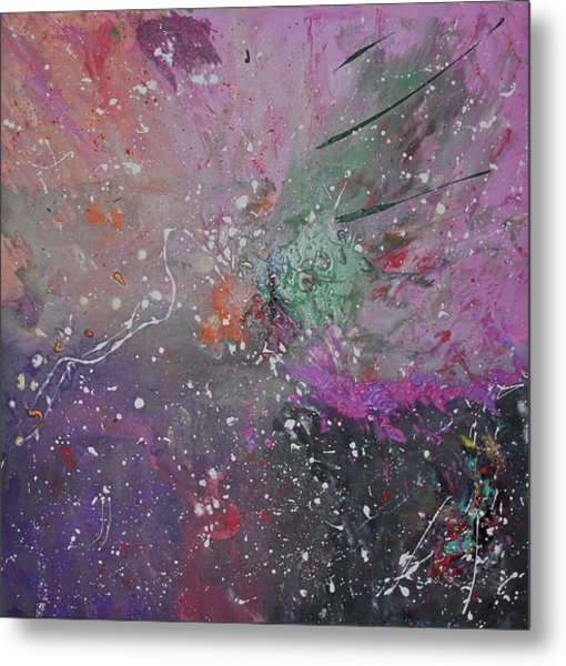 Metal Print featuring the painting Mystical Dance by Michael Lucarelli
