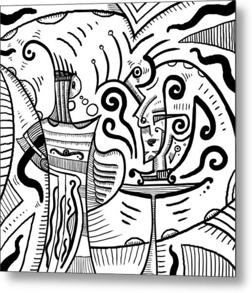 Mystical Powers - Surrealism Metal Print