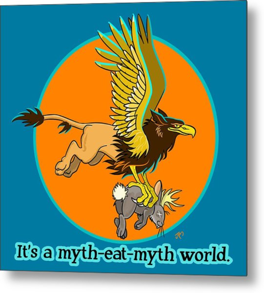 Mythhunter Metal Print