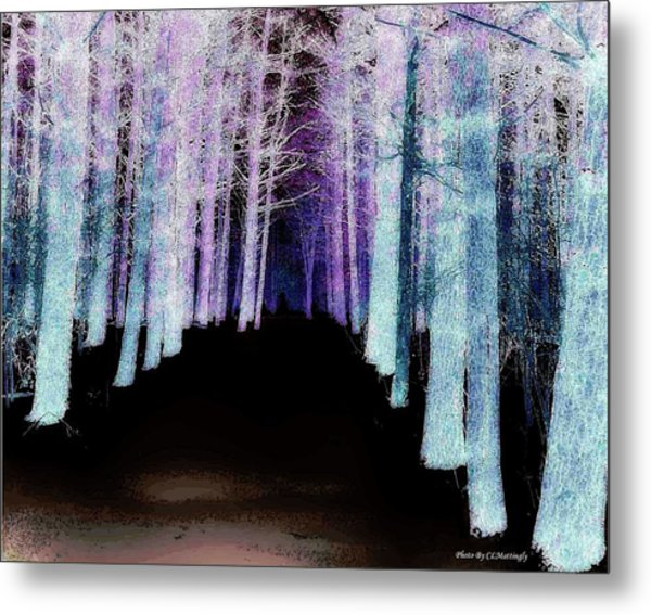 Mythical Forrest Metal Print