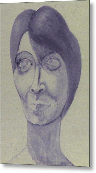 Nadine Portrait Metal Print
