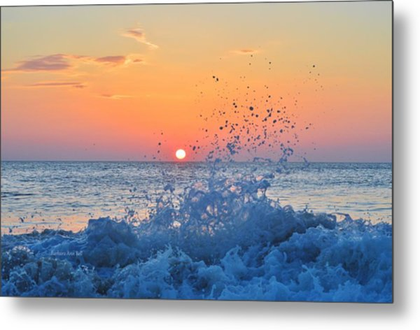 Nags Head Sunrise 7/15/16 Metal Print
