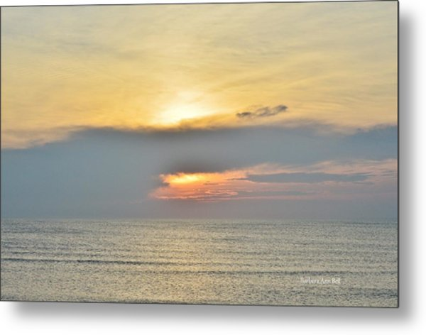 Nags Head Sunrise 7/24/16 Metal Print