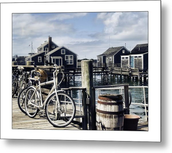 Nantucket Bikes 1 Metal Print