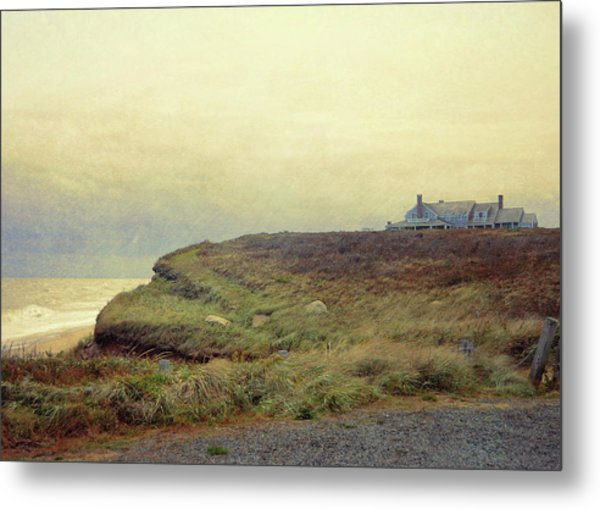 Nantucket Bluff Metal Print by JAMART Photography