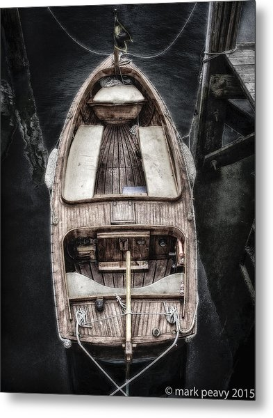 Nantucket Boat Metal Print