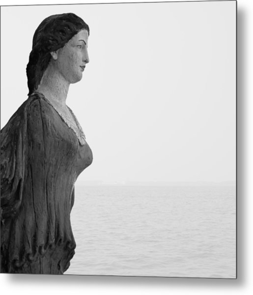 Nantucket Figurehead Metal Print