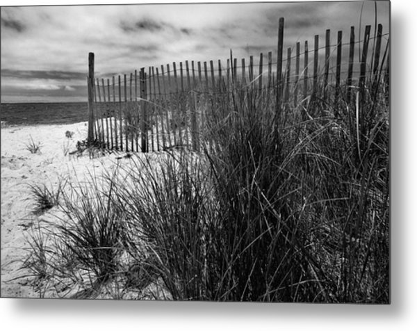 Nantucket Harbor Beach Dunes  Metal Print