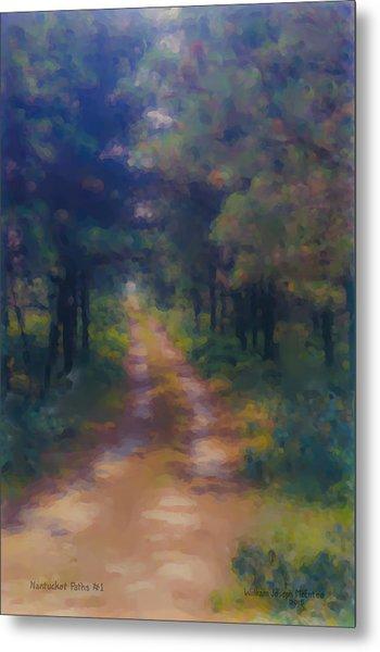 Nantucket Paths #1 Metal Print