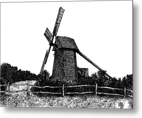 Nantucket Windmill Number Two Metal Print