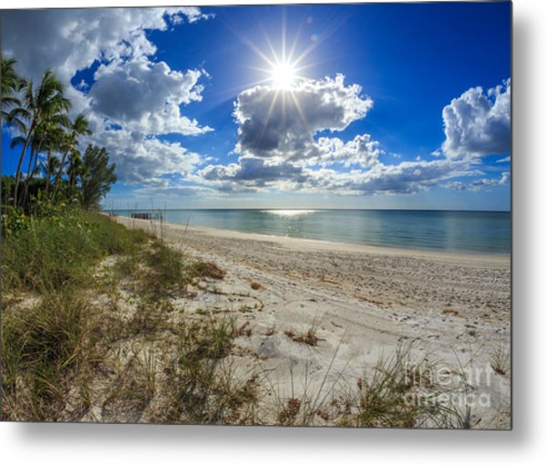 Naples, Florida Beach Metal Print
