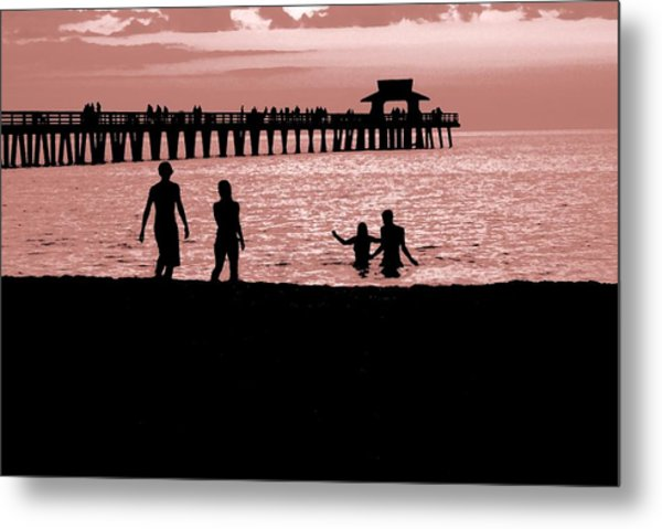 Naples Florida Sunset Metal Print