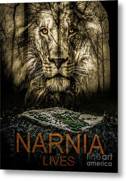 Metal Print featuring the photograph Narnia Lives by Michael Arend