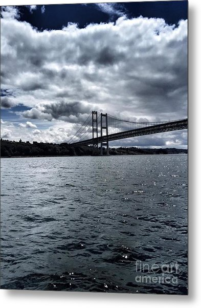 Narrows Bridge Metal Print